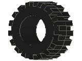 %87697 タイヤ[黒](外径20mm 内径10mm 幅12mm)
