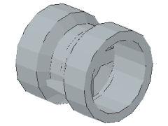 %30027b 車輪[新灰](径9mm 幅9mm 小径軸受)