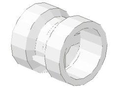%30027b 車輪[白](径9mm 幅9mm 小径軸受)