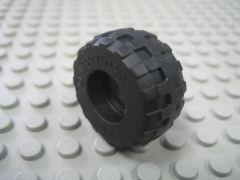 %56890 バルーンタイヤ[黒](外径24mm 内径10mm 幅12mm)