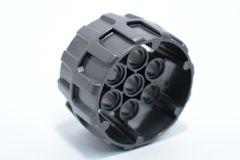 %22410 ペグ用車輪[パール濃灰](外径37mm、幅22mm)