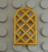 %30046 アーチ型窓[パール金]1x2x2(斜め格子)