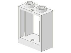 %60592 窓枠[白]1x2x2(敷居無タイプ)