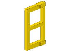 %60608 窓板枠[黄]1x2x3(新タイプ)