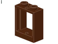 %60592 窓枠[新茶]1x2x2(敷居無タイプ)