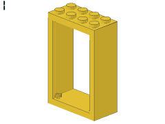 %4130 ドア枠[黄]2x4x5
