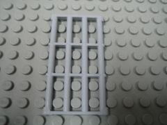 %92589 ドア枠用パネル[新灰]1x4x6(鉄格子、取っ手無)