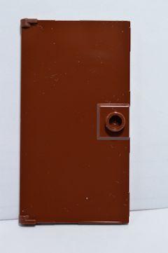 %60616 ドア[新茶]1x4x6(取っ手付き)