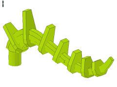 %55236 バイオニクルの尻尾[黄緑]