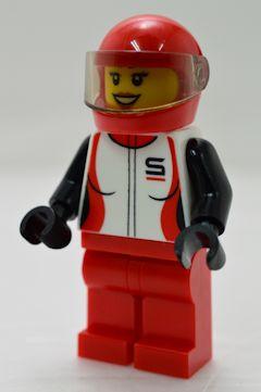 F5423 レーシングドライバー(女性、#60256)