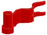 %4495 旗[赤]1x4