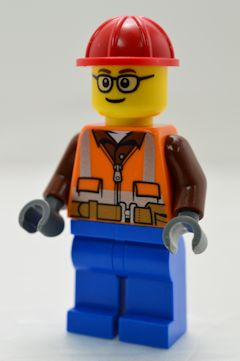 F5453 現場作業員(ベスト[オレンジ]、#60252)