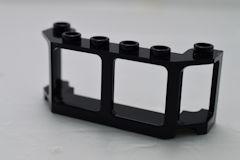 %17454 トレインフロント[黒]2x6x2(ガラス無し)