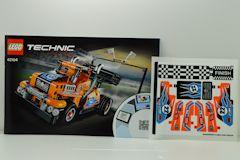 #42104 レーシングトラックの組立説明書(シール付)