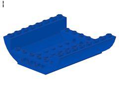 %54091 逆カーブスロープ[青]8x8x2(両側傾斜)