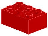 %3002 ブロック[赤]2x3