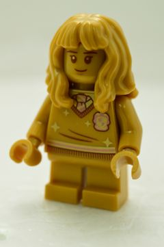 "F6301 Hermione Granger(背中に""20 YEARS LEGO Harry Potter""、#76387)"