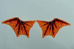 ドラゴンの羽(左右ペア、布地、#71753)