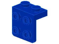 %44728 ブラケット[青]1x2-2x2