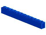 %6112 ブロック[青]1x12
