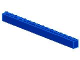 %2465 ブロック[青]1x16