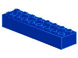 %3007 ブロック[青]2x8