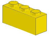 %3622 ブロック[黄]1x3