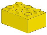 %3002 ブロック[黄]2x3