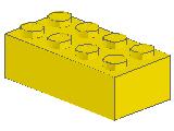 %3001 ブロック[黄]2x4