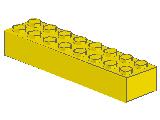 %3007 ブロック[黄]2x8