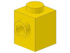 %87087 ブロック[黄]1x1(片側面にポッチ)