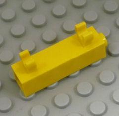 %60801 ブロック[黄]1x1x3(垂直クリップ2個)