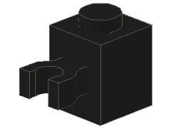 %30241 ブロック[黒]1x1(垂直クリップ)