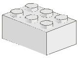 %3002 ブロック[白]2x3