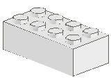 %3001 ブロック[白]2x4