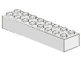 %3007 ブロック[白]2x8