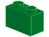 %3004 ブロック[緑]1x2