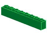 %3008 ブロック[緑]1x8