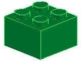 %3003 ブロック[緑]2x2