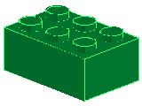 %3002 ブロック[緑]2x3