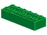 %2456 ブロック[緑]2x6