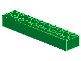 %3006 ブロック[緑]2x10