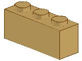 %3622 ブロック[タン]1x3