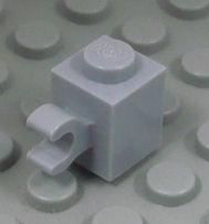 %60476 ブロック[新灰]1x1(水平クリップ)