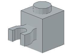 %30241 ブロック[新灰]1x1(垂直クリップ)