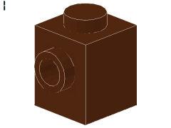%47905 ブロック[新茶]1x1(両側面にポッチ)