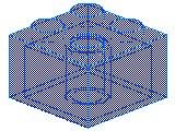 %3003 ブロック[透明青]2x2