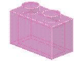 %3065 ブロック[透明ピンク]1x2(仕切無し)