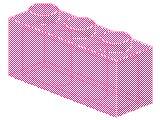 %3622 ブロック[透明ピンク]1x3