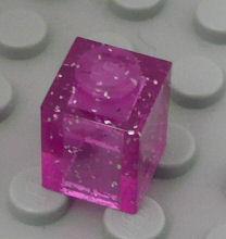 %3005 ブロック[透明ピンク]1x1(ラメ入)